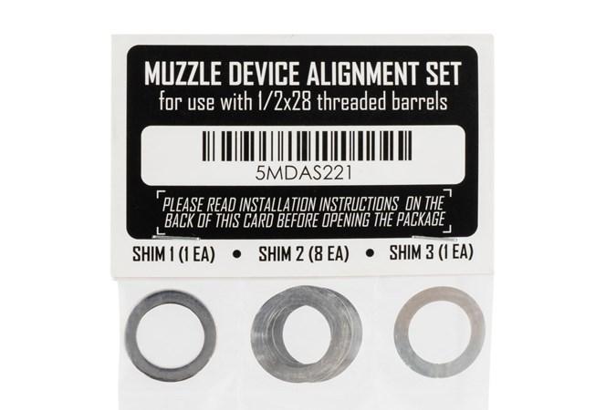 Rugged Suppressors Shim Kit  Accessory-Silencer Accessories - Item #: RGSA001 / MFG Model #: SA001 / UPC: 859383006426 - SHIM KIT 1/2X28