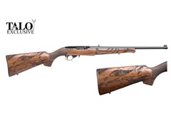 TALO EXCLUSIVE Ruger 10/22 Carbine 22 LR  Item #: RU1022-EAGLE / MFG Model #: 21199 / UPC: 736676211999 10/22 AMER EAGLE 22LR BL/WD 21199 ENGRAVED AMERICAN EAGLE