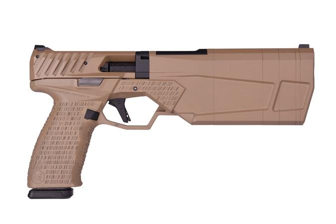 SilencerCo Maxim 9 9mm NFA - Silencer - Item #: SCPB2596 / MFG Model #: PB2596 / UPC: 816413025147 - MAXIM 9 SUPP PIST 9MM FDE