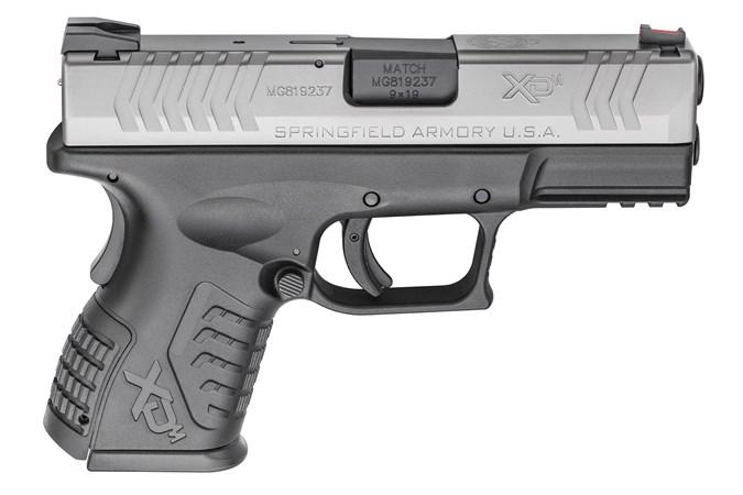 "Springfield Armory XD(M) Compact 9mm Semi-Auto Pistol - Item #: SFXDM9389CSHCE / MFG Model #: XDM9389CSHCE / UPC: 706397905262 - XDM COMPACT 9MM SS 3.8"" 19+1 #"