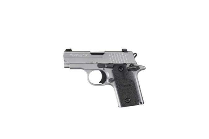 SIG SAUER P238 380 ACP Semi-Auto Pistol - Item #: SI238380HD2CA / MFG Model #: 238-380-HD2-CA / UPC: 798681617159 - P238 380ACP SS SLITE G10 CA  # 238-380-HD2-CA | CA COMPLIANT