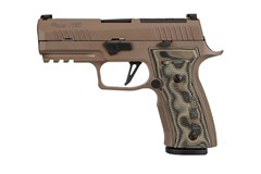 SIG SAUER P320 AXG Carry Scorpion 9mm