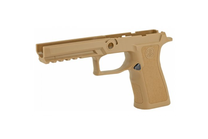 SIG SAUER 320X Compact Grip Module Assy  Accessory-Grips - Item #: SIGRIPMXF943MCO / MFG Model #: GRIP-MODX-F-943-M-COY / UPC: 798681623914 - GRIP ASY 320X 9/40/357F MD COY GRIP-MODX-F-943-M-COY|FULLSIZE