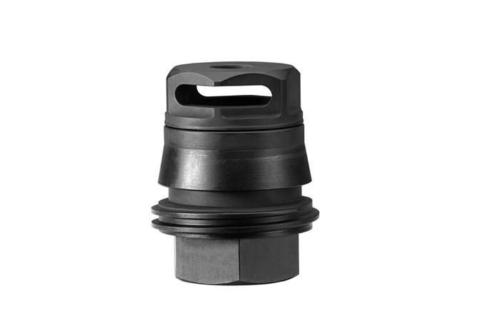 SIG SAUER 7.62mm Taper-Lok MB Assembly 30 Caliber | 7.62mm Accessory-Silencer Accessories - Item #: SISRD76212X28B / MFG Model #: SRD-762-12X28-B / UPC: 798681525225 - MUZZLE BRAKE TL 7.62MM 1/2X28 1/2X28 FOR SRD556-QD SILENCER