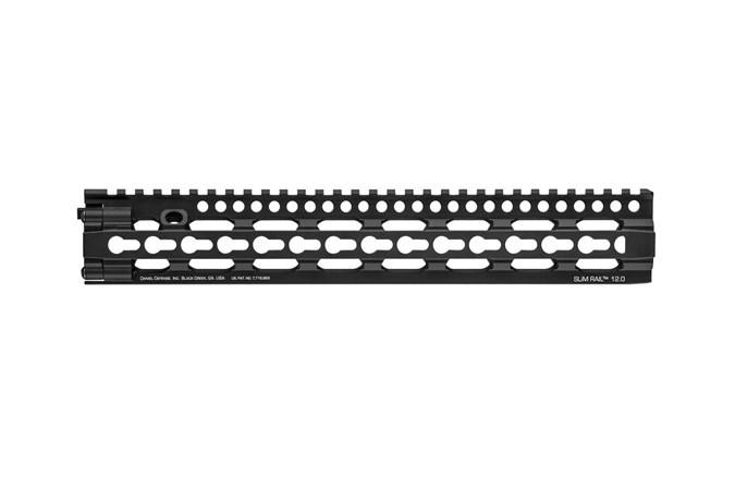Daniel Defense Slim 12.0 Keymod Handguard  Accessory-Rails - Item #: DD0114702038 / MFG Model #: 01-147-02038 / UPC: 815604016704 - SLIM 12.0 KEYMOD HANDGUARD   # 01-147-02038