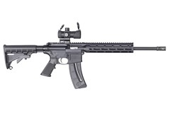 Smith and Wesson M&P15-22 Sport OR 22 LR  Item #: SM12722 / MFG Model #: 12722 / UPC: 022188879193 M&P15-22 SPORT OR 22LR 25+1 12722 | M&P DOT OPTIC