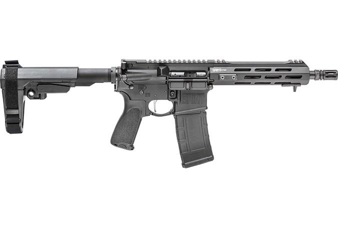 Springfield Armory Saint Victor Pistol 300 AAC Blackout Semi-Auto Pistol - Item #: SFSTV909300B-SB / MFG Model #: STV909300B-SBA3 / UPC: 706397932961 - SAINT VICTOR PIST 300BLK SBA3 STV909300B-SBA3