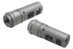 SureFire Muzzle Brake/Silencer Adapter 223 Rem   5.56 NATO  Item #: SU131925 / MFG Model #: SFMB-556-1/2-28 / UPC: 084871319256 MUZZLE BRAKE QD 5.56MM 1/2X28 SFMB-556-1/2-28