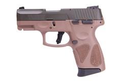 "LIPSEY'S EXCLUSIVE Taurus G2C 9mm  Item #: TAG2CODGBR / MFG Model #: 1-G2C93B-12B / UPC: 725327620013 G2C 9MM OD GRN/BROWN 3.2"" 12+1 1-G2C93B-12B"