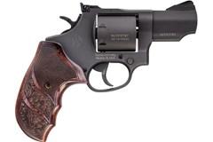 """Taurus 692 357 Magnum   38 Special   9mm  Item #: TA6922BF / MFG Model #: 2-692021WBRN3 / UPC: 725327934448 692 357MAG BLK 2.5"""" FOLIAGE 2-692021WBRN3   FOLIAGE GRIP"""