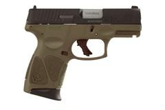 """LIPSEY'S EXCLUSIVE Taurus G3C 9mm  Item #: TAG3C9ODG / MFG Model #: 1-G3C931O / UPC: 725327619291 G3C 9MM ODG/BLK 3.2"""" 12+1 1-G3C931O"""