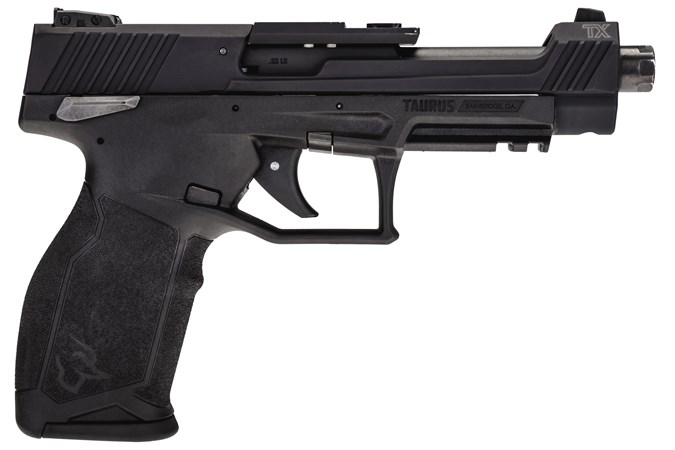 """Taurus TX22 Competition 22 LR Semi-Auto Pistol - Item #: TATX22COMP / MFG Model #: 1-TX22C151 / UPC: 725327932741 - TX22 COMPETITION 22LR BK 5.4"""" 1-TX22C151"""