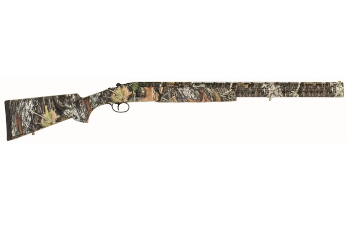"TriStar Sporting Arms Hunter Magnum II 12 Gauge Shotgun - Item #: TS35220 / MFG Model #: 35220 / UPC: 713780352206 - HUNTER MAG O/U 12/26 MOBU 3.5"" MOSSY OAK BREAK-UP CAMO"