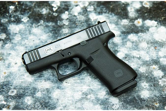 GLOCK G43X  Deluxe Limited Edition 9mm Semi-Auto Pistol