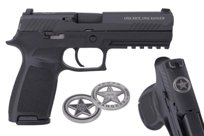 SIG SAUER P320 Texas Ranger 9mm Semi-Auto Pistol