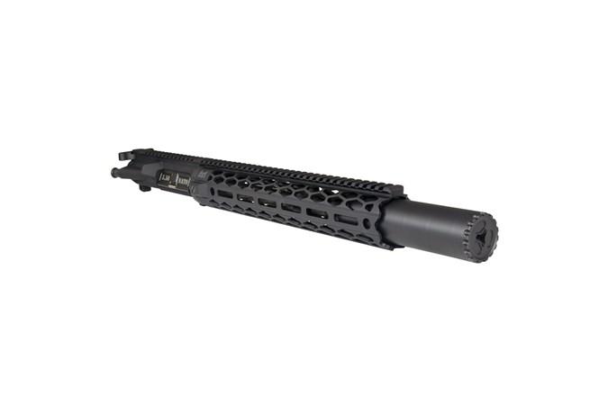 Yankee Hill Machine Company Turbo Integral Suppressor 223 Rem   5.56 NATO NFA - Silencer - Item #: YHM-7125 / MFG Model #: YHM-7125 / UPC: 841812101185 - TURBO INTEGRAL 5.56 1/2-28 INTEGRAL SUPPRESSOR SYSTEM